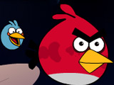Angry Birds Run in Space