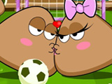 Pou Kissing