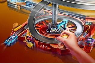 Hot Wheels Spin City