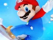 Mario Skating Draw Line Skill