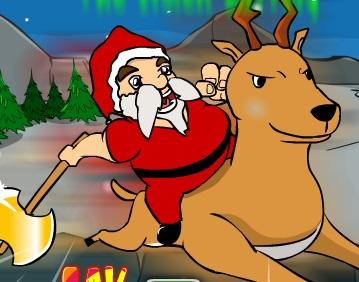 Mr Santa - the stolen battrey