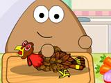 Pou Thanksgiving Day Slacking