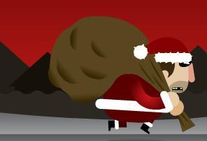 Sneaky Santa